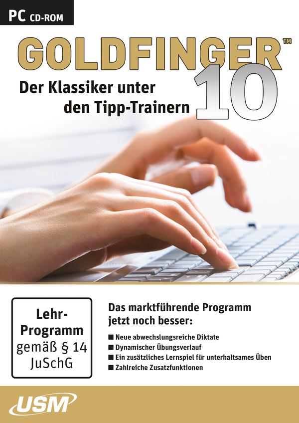 goldfinger tastaturschreiben